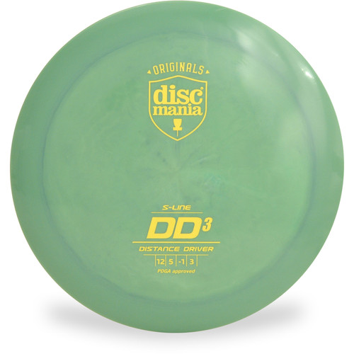 Discmania S-LINE DD3 Disc Golf Driver Green Front View