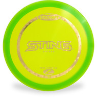 Discraft Z Sting Fairway Disc Golf Driver Green Front View