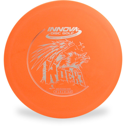 Innova DX ROCX3 Mid-Range Golf Disc Orange Top View