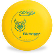 Innova DX SKEETER - SUPER LIGHT Mid-Range Golf Disc Top View Yellow