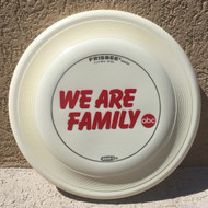 WHAM-O FASTBACK FRISBEE - WE ARE FAMILY FB19 - PREMIUM FLYING DISC