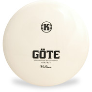 Kastaplast K1 GOTE Mid-Range Golf Disc Top View
