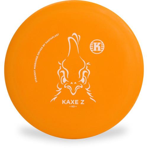 Kastaplast K3 KAXE Z Mid-Range Golf Disc Top View