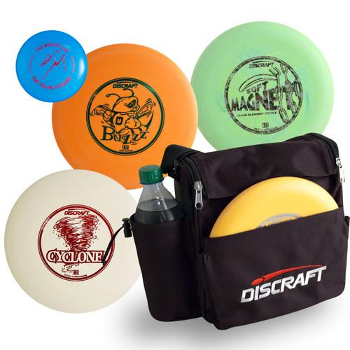 Discraft DISC GOLF STARTER SET - Includes Bag + 3 Discs & Mini Marker