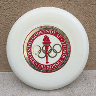 WHAM-O 100 MOLD - OLYMPISKA RED STAMP - FRISBEE FLYING DISC