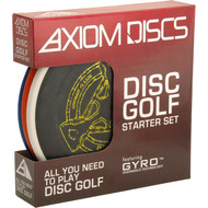 AXIOM STARTER SET for Disc Golf Front View