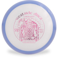 Westside Discs VIP GATEKEEPER Mid-Range Golf Disc Top View Purple