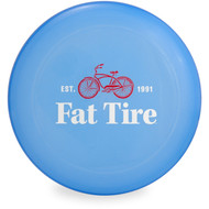 Wham-O UMAX FRISBEE - FAT TIRE LOGO Flying Disc Top View