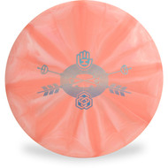 Latitude 64 GOLD BURST COMPASS - HAND EYE Graphic 174g Top View