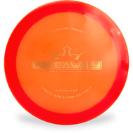 Dynamic Discs LUCID GETAWAY Driver Orange Top View