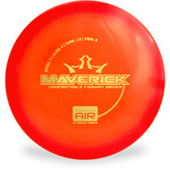 Dynamic Discs LUCID AIR MAVERICK Driver Red Top View