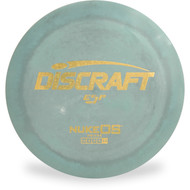 Discraft ESP NUKE OS Gray/Green Top View