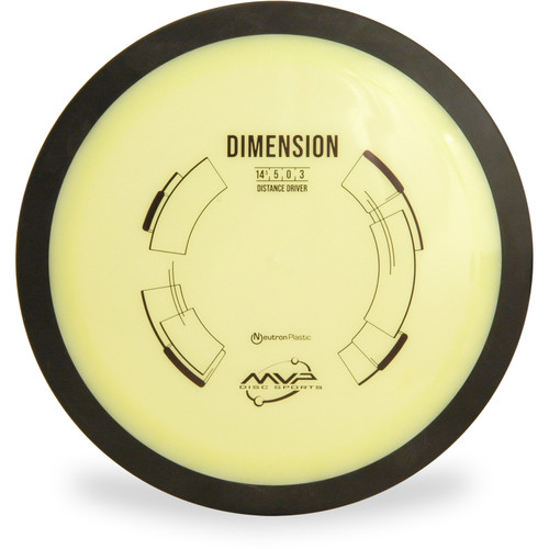 MVP NEUTRON DIMENSION Driver Yellow Top View