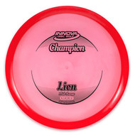 Innova CHAMPION LION Mid-Range - top view of red disc