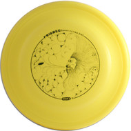 Wham-O FB6 FASTBACK FRISBEE Original Mold - top view yellow