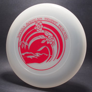 Sky-Styler Sonoma Mountain Frisbee Festival Clear w/ Red