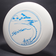 Sky-Styler Stinson Pelicans White w/ Blue Foil - T80 - Top View