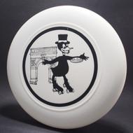 Paris Duck Disc and Skates White w/ Black