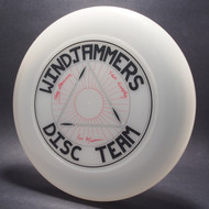 Sky-Styler Windjammers Disc Team Clear w/ Red and Black Matte