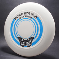 Buffalo Wing Team Disc Sports Club White w/ Black and Blue Matte