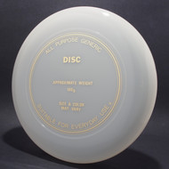 Sky-Styler Generic Disc Clear w/ Gold Foil-TR
