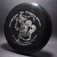 Sky-Styler Save the Dragons Black W/ White Matte-TR