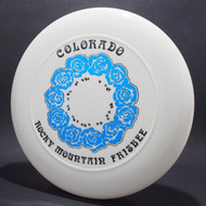 Sky-Styler Colorado RM Frisbee Roses White w/ Blue Foil Roses and Black Matte