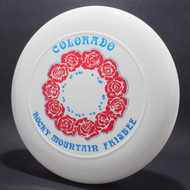 Sky-Styler Colorado RM Frisbee Roses White w/ Red Foil Roses and Blue Foil