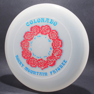 Sky-Styler Colorado RM Frisbee Roses Clear w/ Red Foil Roses and Blue Foil