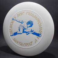 82 World Disc Championships V DB SCCA White w/ Blue and Gold Foil