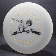 82 World Disc Championships V DB SCCA Clear w/ Black Matte and Gold Foil