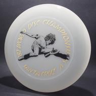 82 World Disc Championships V DB SCCA Clear w/ Black Matte and Gold Foil