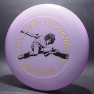 82 World Disc Championships V DB SCCA Purple w/ Black Matte and Gold Foil
