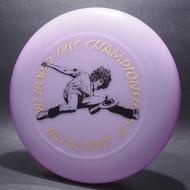 82 World Disc Championships V DB SCCA Purple w/ Black Matte and Gold Foil