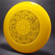 Sky-Styler Astrology Design yellow w/  Black Matte