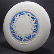 Birds Special Edition Freeflight White w/ Blue Matte & Gold Metallic