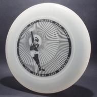 Sky-Styler Traverse City Frisbee Disc Group Clear w/ Black Matte