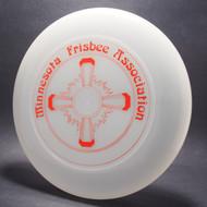 Minnesota Frisbee Association Clear w/ Metallic Red