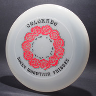 Colorado RM Frisbee Roses Clear w/ Red Metallic Roses and Black Matte Foil