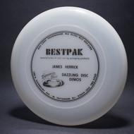 James Herrick Dazzling Disc Demos sponsor BestPak Clear w/ Black Matte Top View