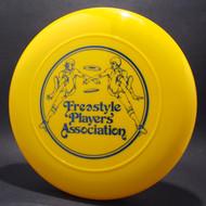 Original Freestyle Players Association Logo Yellow w/ Black Matte T80 Top View