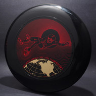1982 World Freestyle Frisbee Championships Austin TX Black w/ Red Matte and Metallic Gold