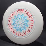 1998 FPA Tour Disc White w/ Metallic Blue and Metallic Red Text