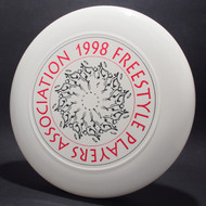 1998 FPA Tour Disc White w/ Black Matte and Metallic Red Text