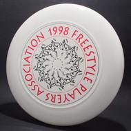 1998 FPA Tour Disc White w/ Black Matte and Metallic Red Text