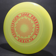 FPA 2000 Tour Disc Neon Green w/ Blue Matte