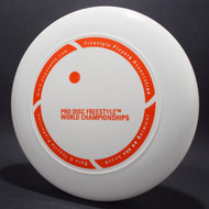 FPA Pro Disc Freestyle World Championships White w/ Orange Matte