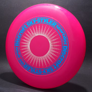 Sky-Styler Sun Bright Pink w/ White Matte Sun and Metallic Blue Ring - T80