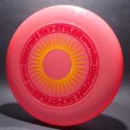 Sky-Styler Sun Pink w/ Yellow Matte Sun and Red Matte Ring - T80