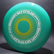 Sky-Styler Sun  Green w/ Yellow Matte Sun and White Matte Ring - T80